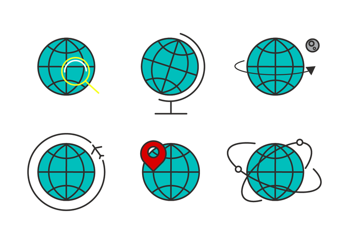 Vecteur globus gratuit