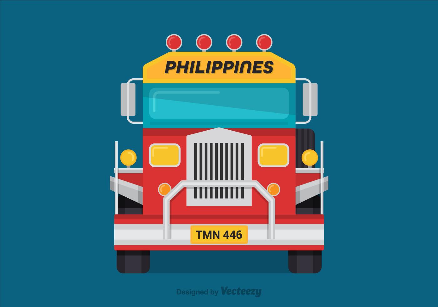 Jeepney Free Vector Art 110 Free Downloads