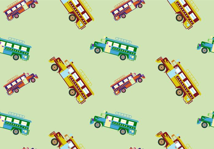 Illustration vectorielle gratuite de Jeepney