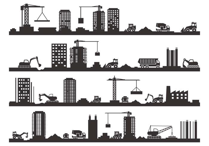Free Construction Silhouette Vector