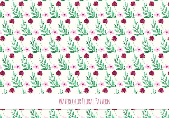 Free Vector Watercolor Pattern