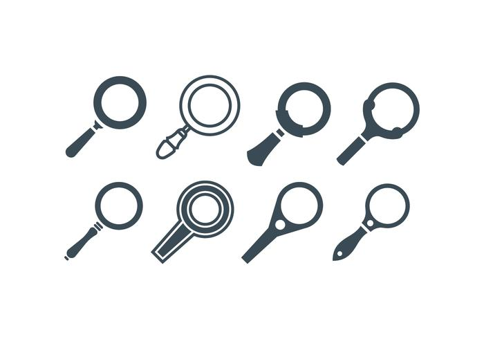 Magnifying Glass Vectors