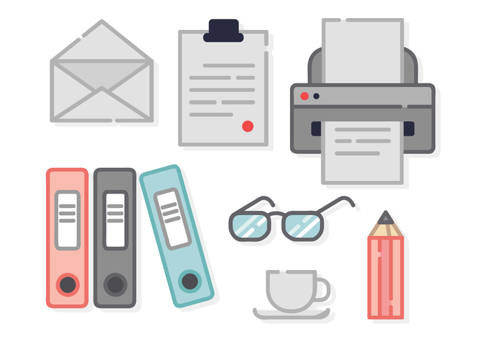 Free Office Elements Vector