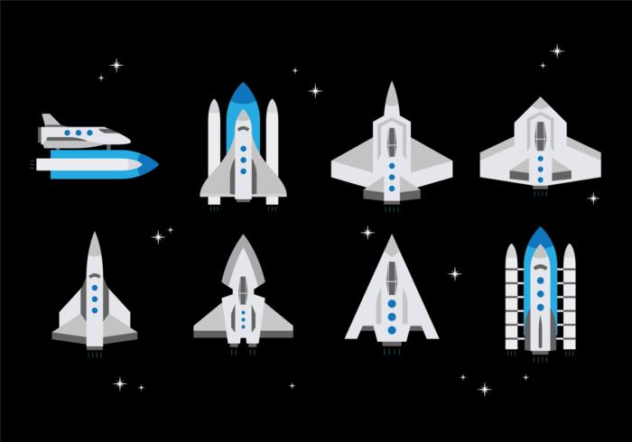 Starship Vector grátis