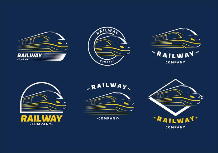 Train Logo Template Free Vector