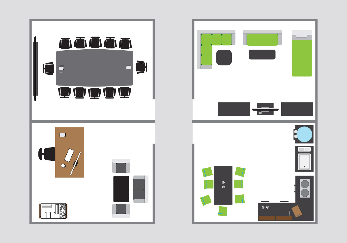 Top view for interior floorplan download free vector art for Interieur ontwerpen 3d