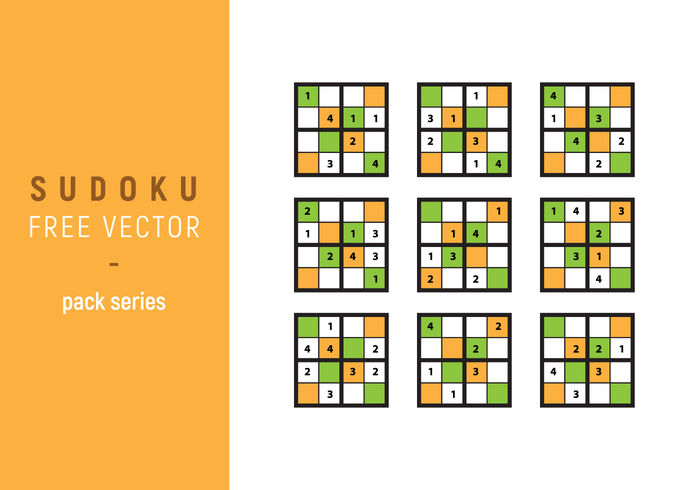 Sudoku Vector Pack de la serie