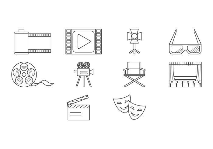Free Movie Icon Vector