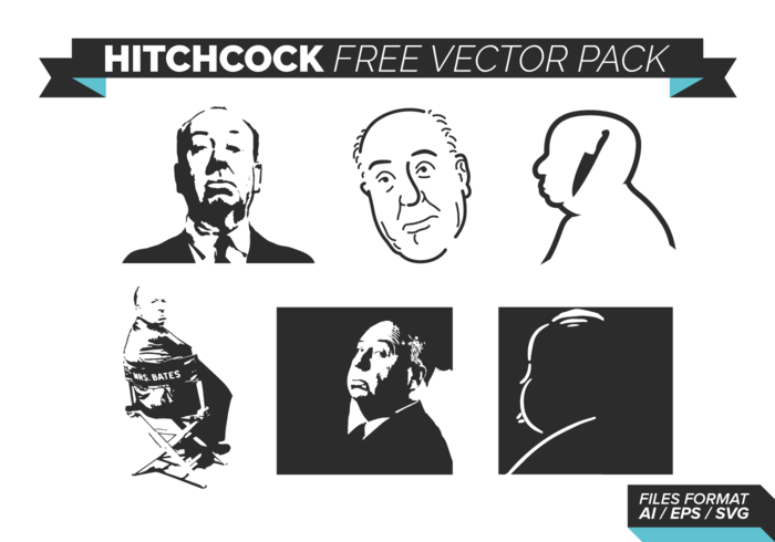 Hitchcock Free Vector Pack