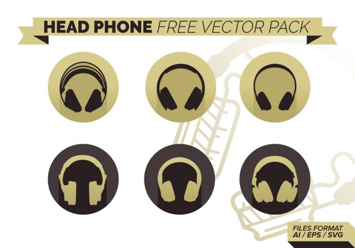 Head Phone Free Vector Pack