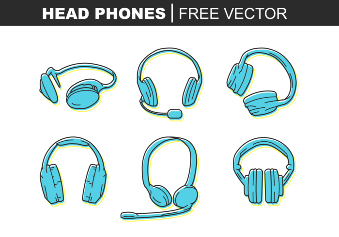 Head Phone Free Vector