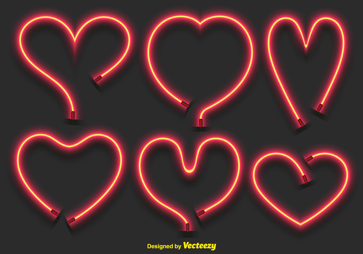 Neon Heart Free Vector Art - (147 Free Downloads)