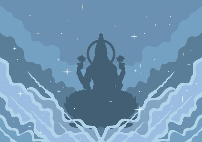Ilustración vectorial Lakshmi