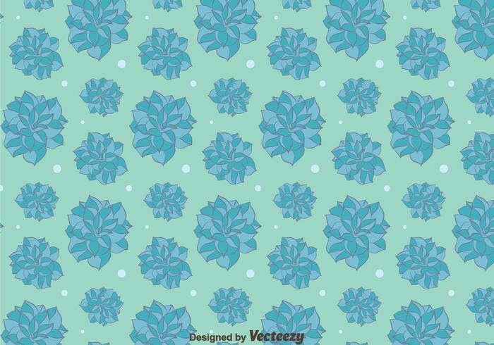 Blue Camellia Flowers Pattern Background