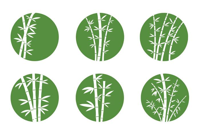Free Bamboo Icons Vector