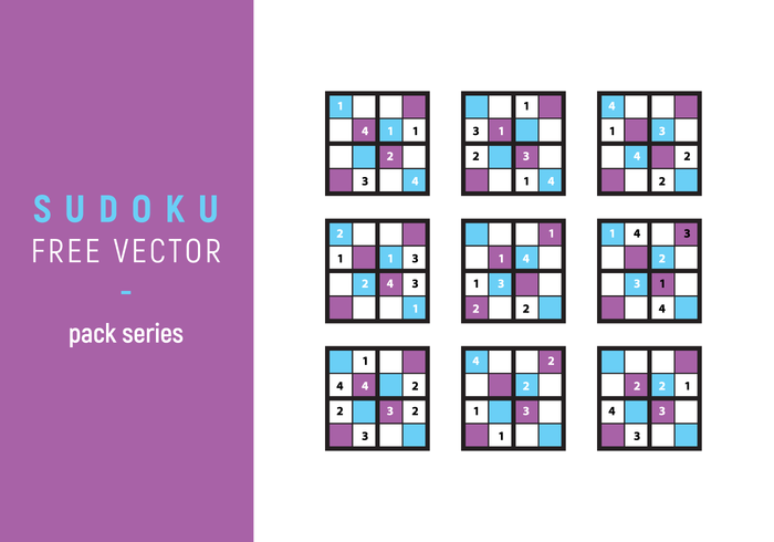 Sudoku Free Vector Illustration