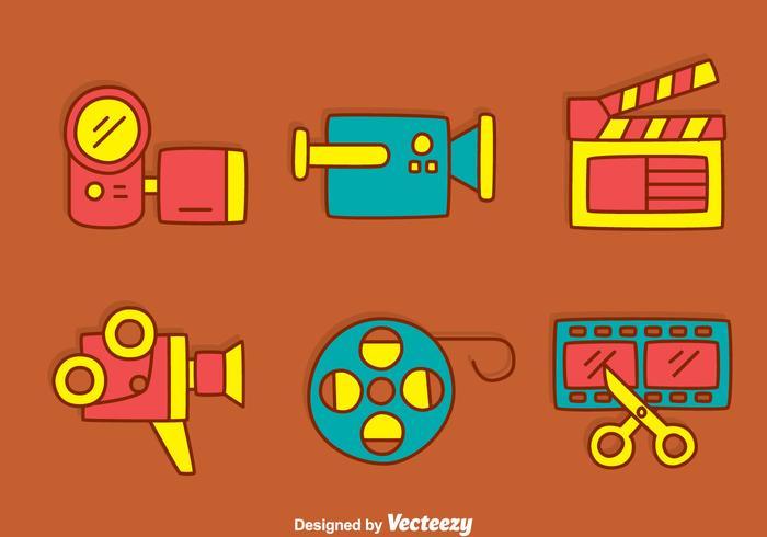 Hand Drawn Film Element Vector