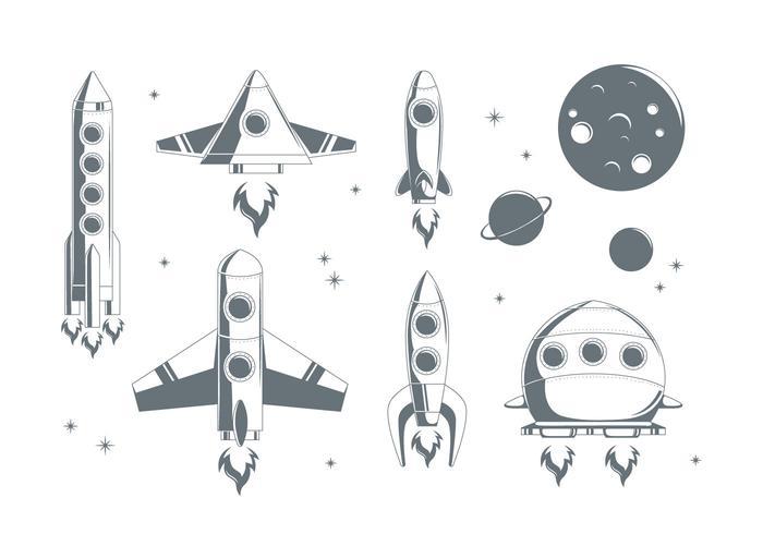 Vector livre Starship
