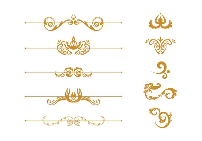 Free Scrollwork Vector