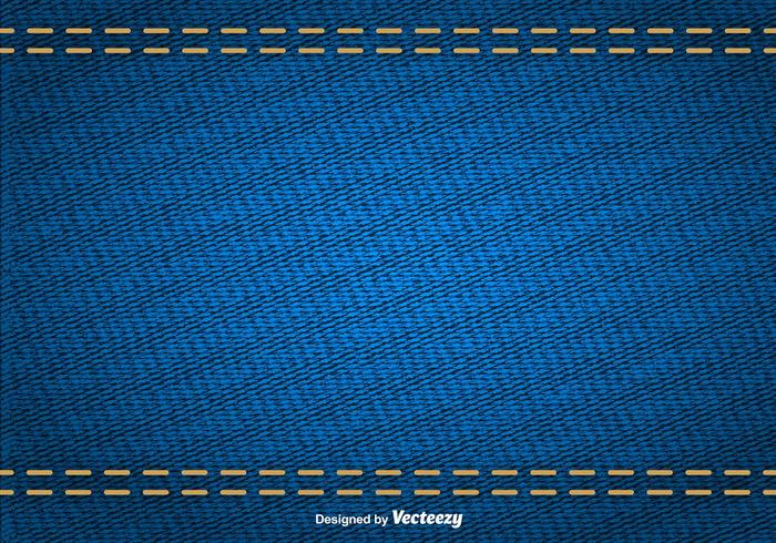 Vector Abstract Texture Of Blue Denim