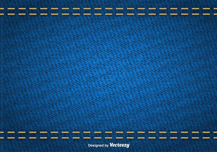 Textura abstrata do vetor do denim azul