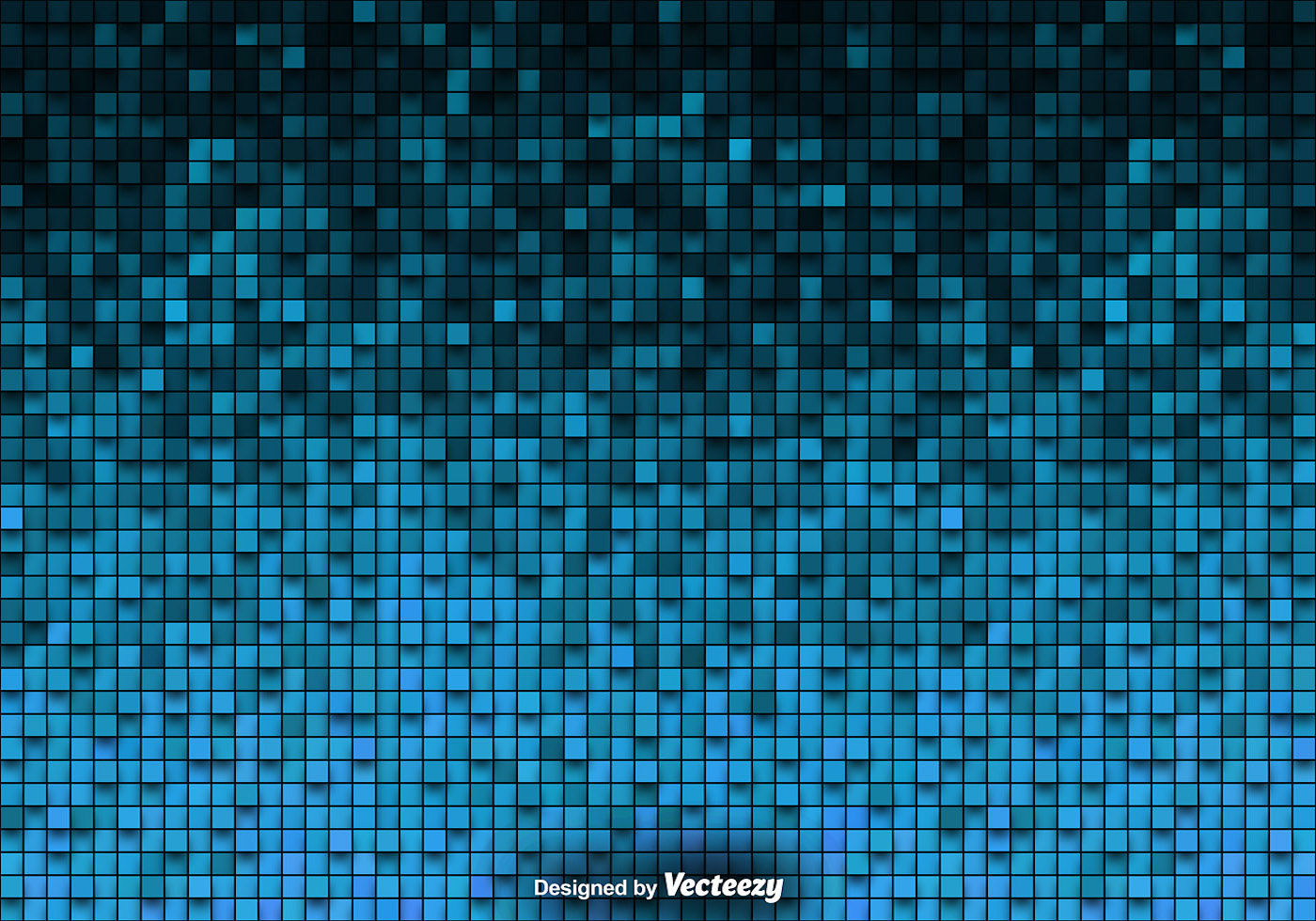 Tiled Background Vector Blue Tiles - Download Free Vector Art, Stock ...