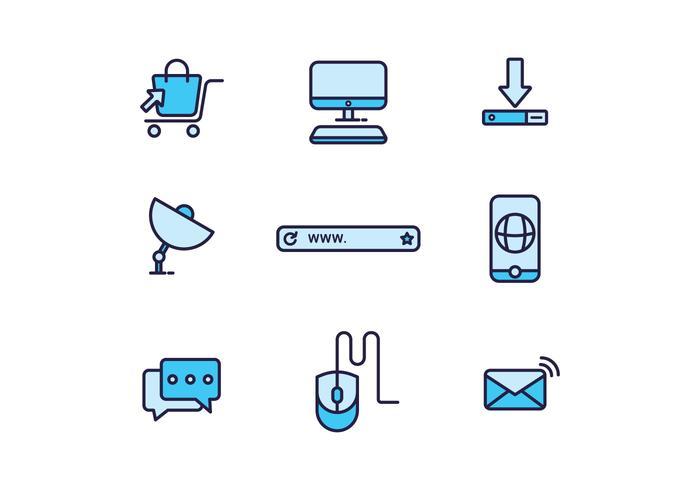 Kostenlose Internet-Ikonen