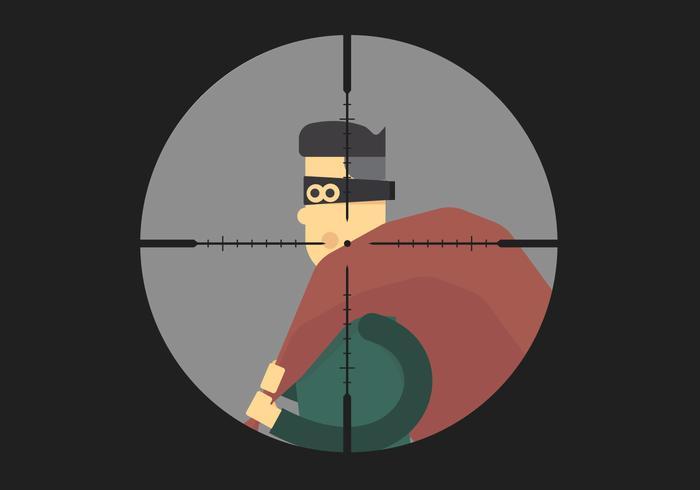 Headshot Thief Vector
