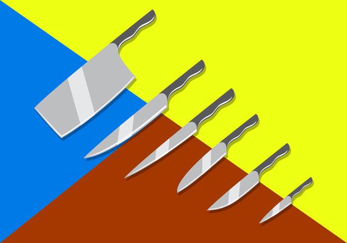 Couteaux gratuit Vecteurs