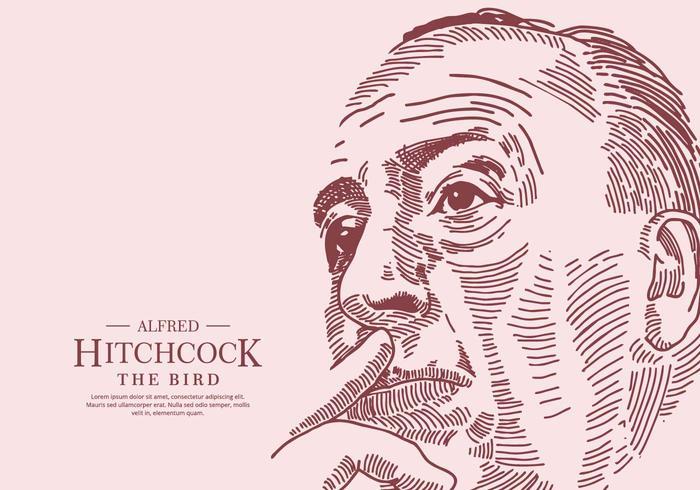 Sfondo di Hitchcock vettore