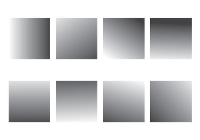 Grey Gradient Vector Pack