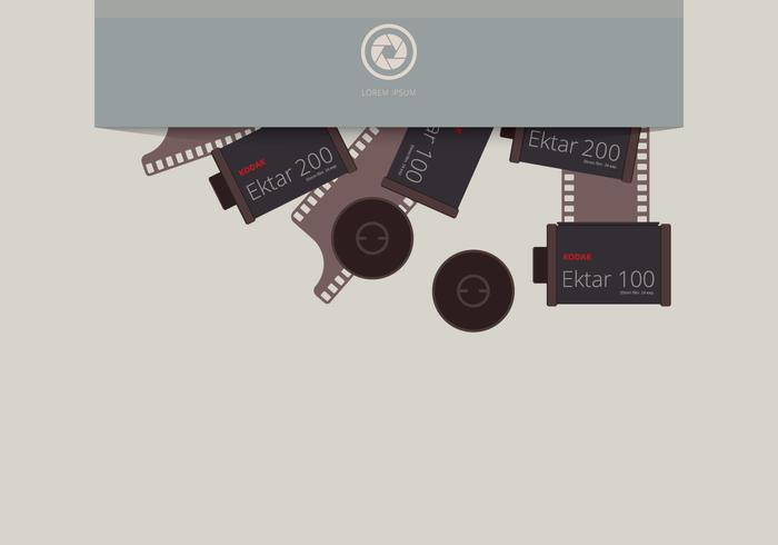 Film Canister in Envelope