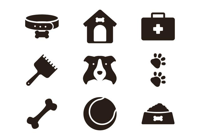 Icono de Border Collie vector