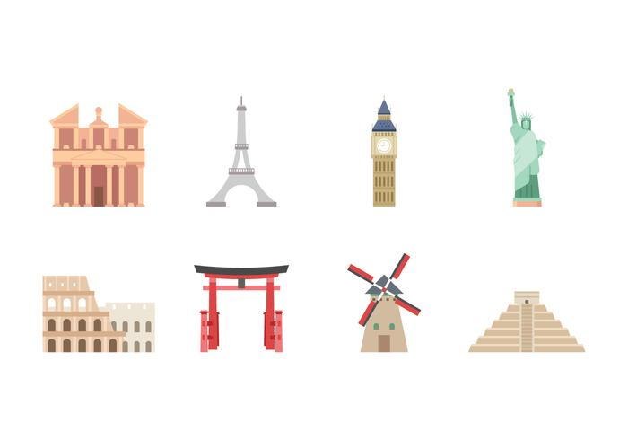 Free Landmark Icons