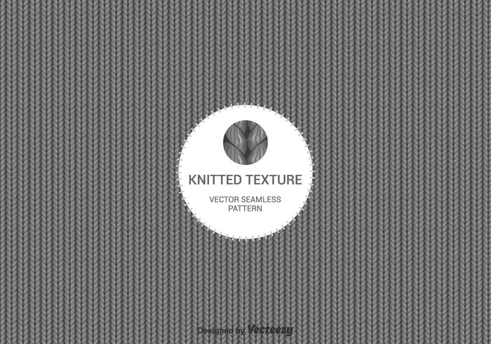 Free Vector Knitted Wool Background