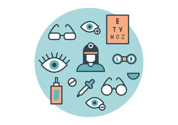 The Ophthalmologist Vector Pack