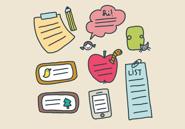 Cadres et Post-Its For Kids
