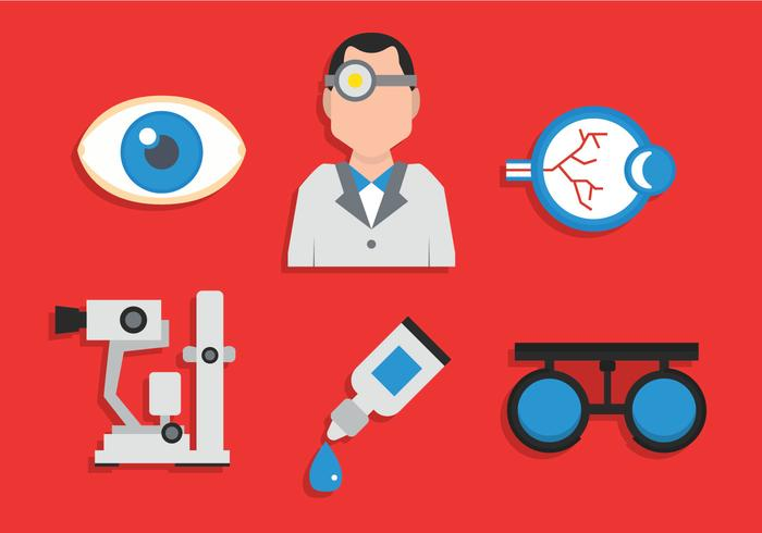 Eye doctor vector