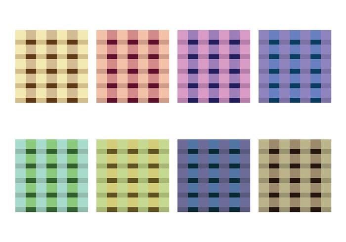 Vector textura de franela