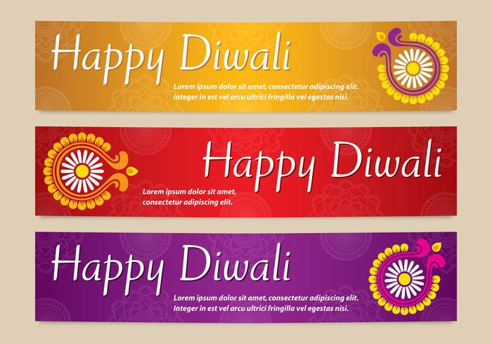 Diwali greetings free vector art 8205 free downloads bright diwali banners vectors m4hsunfo