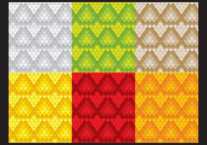 Schlange-Muster-Vektoren