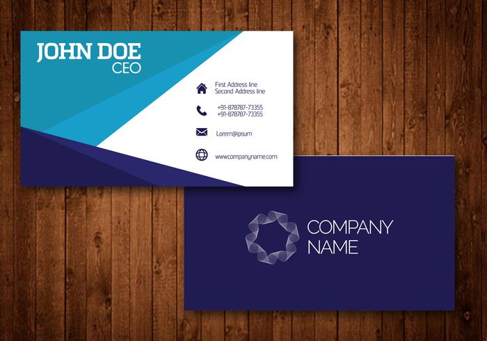Creative Visiting Cards - Download Free Vector Art, Stock Graphics