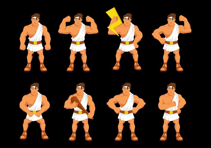 Hercules Cartoon Vector
