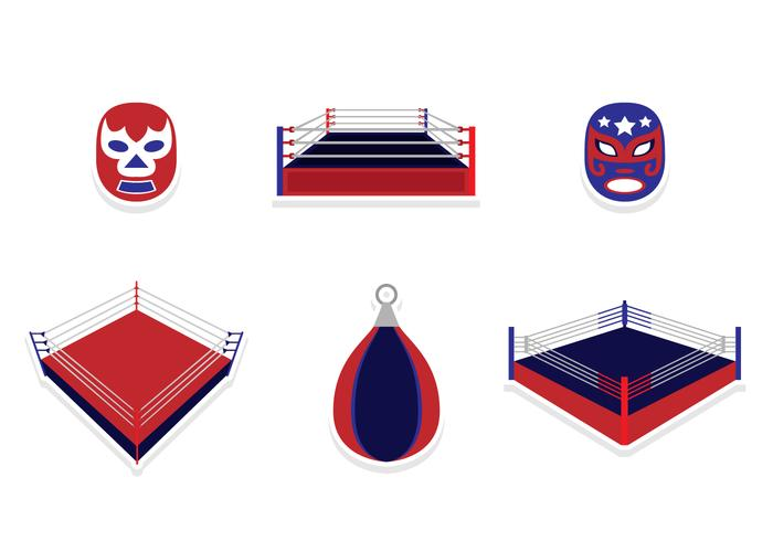 Wrestling Sticker Design