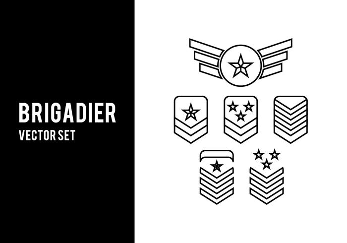 Brigadier Vector Set