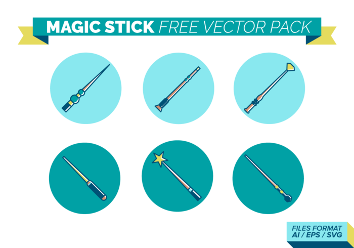 Magic Stick Free Vector Pack