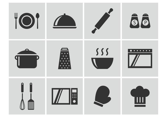 Cocina Vector Icons