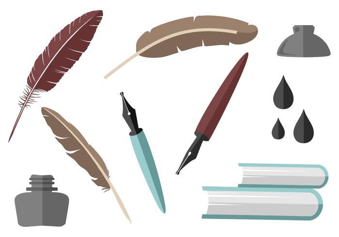 Writing gratuit Element Collection Vector