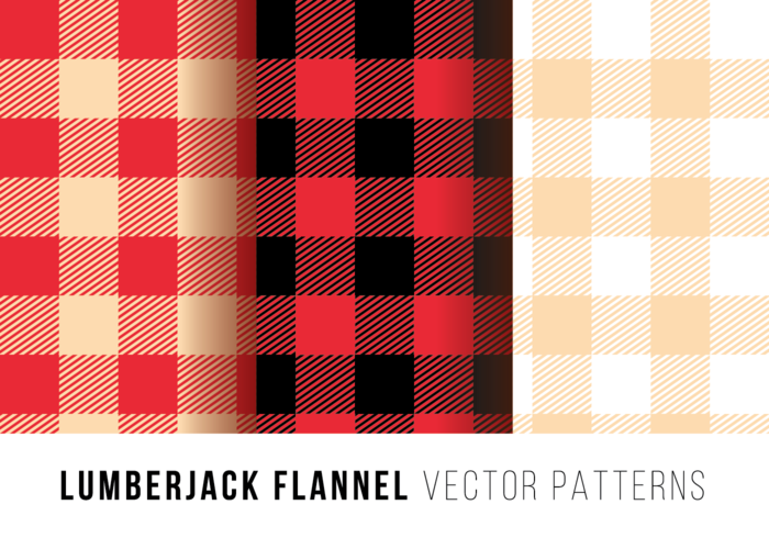 Lumberjack Flanella Free Vector