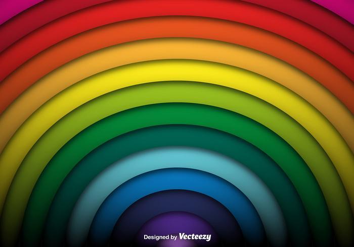 Vecteur de Rainbow Background